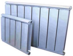 Алюминиевые радиаторы оптим аль сильвер