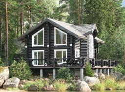 строительство домов из рубленого и оцилиндрованного бревна