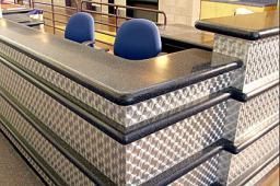 Столы, барные стойки из искусственного камня SANANS