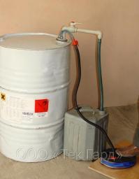 Устройство УНЖ-3М для перекачивания спиртов, растворителей из бочек