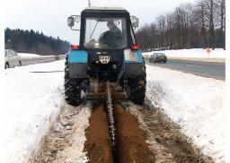 Экскаватор цепной ЭЦУ-150 на базе Беларус МТЗ-82
