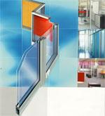 ALT 110-система офисных перегородок из алюминиевых профилей