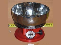Плита газовая лепестковая с ветрозащитой .