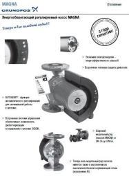Насос Grundfos энергосберегающий