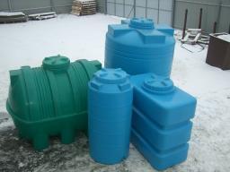 Емкость для воды пластиковая