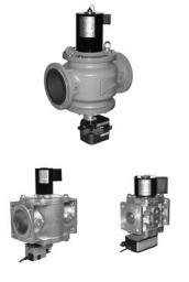 Клапан электромагнитный серии ВН с регулятором расхода