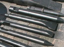 Рабочий инструмент гидромолота (клин, пика, трамбовка)