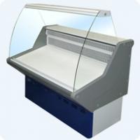 Витрина холодильная ВХН-1,5 Нова (с гнутым стеклом,крашенный)
