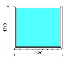 Окно одностворчатое Rehau-Euro-Design
