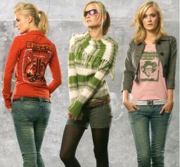 Stock одежда, женский микс