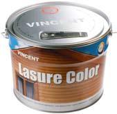 Краска для защиты и декоративной отделки деревянных изделий Лазурь Колор с колеровкой