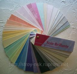 Soie Brillante декоративное покрытие для отделки стен