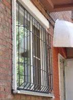 Решётки на окна распашные