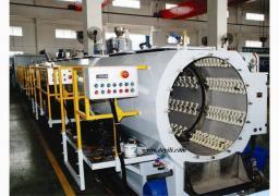 Линия по производству напорных труб из полиэтилена для водоснабжения