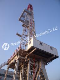"""стационарная буровая установка (МБУ)ZJ40 от компании ООО""""Ронгли-нефтемаш"""" в Шаньдуне."""