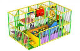 детские игровые комнаты--лабиринты (indoor playground)