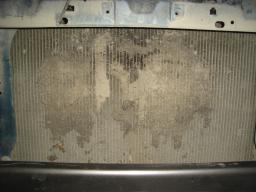 Чистка радиаторов - кондиционера и системы ожлаждения ДВС.