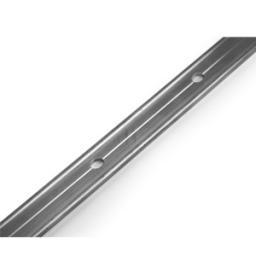 Планка прямая (шовная) алюмин. 25х2,5мм; 3,0м