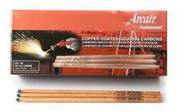 DC Jetrod® Омедненные Стыкуемые Угольные Электроды для Строжки и Резки