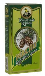 Масло кедрового ореха «Масляный король», 0.1 л, стекло