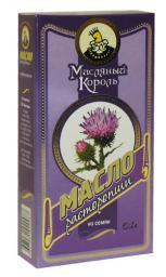 Масло из семян расторопши «Масляный король», 0.1 л, стекло
