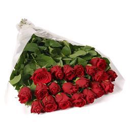 Букет 25 роз - заказать розы в Новосибирске