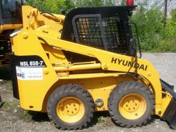 Фронтальный погрузчик HYUNDAI HSL650-7 (7A)