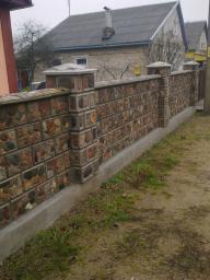 Коробка дома из Бессер блоков