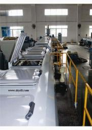 Линия по производству водопроводных труб из полиэтилена(ПНД)
