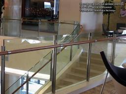 Ограждения балкона и лестницы