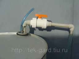 Устройство УНЖ-5 для перекачивания агрессивных жидкостей (кислот, щелочей) из бочек с горловиной