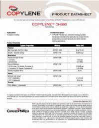 Полипропилен (ПП) Copylene CH350, первый сорт PPHO
