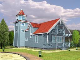 Строительство дома площадью 160 м2