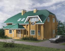 Строительство дома площадью 195 м2