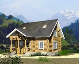 Строительство дома площадью 93 кв.м