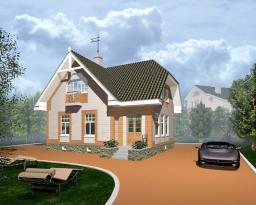 Строительство дома на 109 кв.м