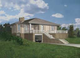 Строительство дома площадью 140 м2