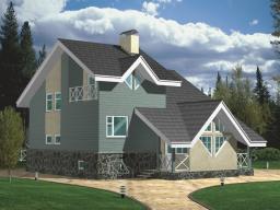 Строительство дома площадью 165 кв.м