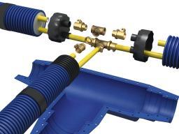 Комплектующие для монтажа теплоизолированных труб Микрофлекс
