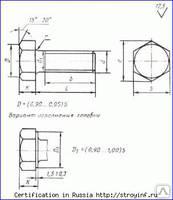 Болт высокопрочный М22ГОСТ 52644-2006 (22353-77) 110 ХЛ