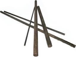 Прутки из монелл-металла катаные, кованные круглого сечения НМЖМц28-2, 5-1, 5