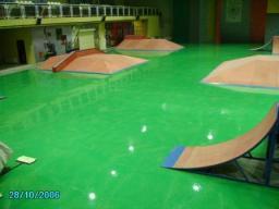 Краски для бетонных полов, полимерные, химстойкие, износостойкие.
