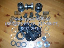 Клапан всасывающий насоса 1,1ПТ25Д1М2 комплект ЗИП, комплект РТИ, запасные части насоса, запчасти ППУА-1600/100, АДПМ-12/150, Запасные части ППУА
