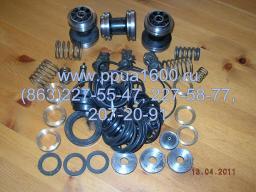 Клапан нагнетательный насоса 1,1ПТ25Д1М2 комплект ЗИП, комплект РТИ, запасные части насоса, запчасти ППУА-1600/100, АДПМ-12/150, Запасные части ППУА