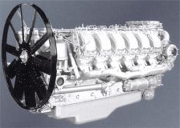 Двигатели V12 с турбонаддувом (8401,850 и модификации)