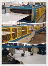 XPS линия по производству пенополистирольных плит