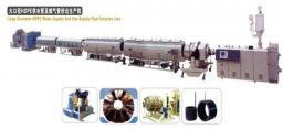 Линия для труб водоснабжения и газоснабжения большого диаметра из HDPE
