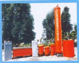 Китайская установка десорбции и электролиза