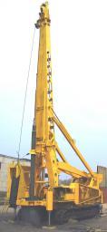 Буровой станок БС-3 (для строительства мостов, возведения опор ЛЭП и др.)