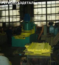Пресс специальный для гибки и формовки бурта по контуру днища емкости ПНО-1